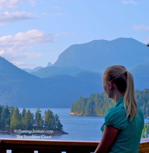 View Sunshine Coast BC Chasingcleanair.com