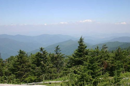 Mt.-Mitchell,-NC-070710 air pollution