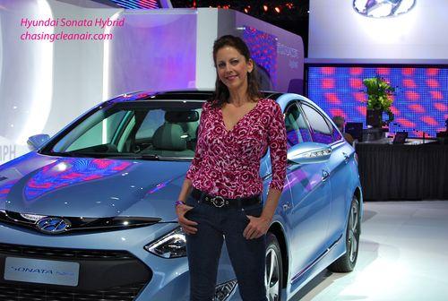 Hyundai Sonata Hybrid LA Auto Show