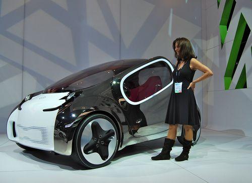 Kia's Pop Concept Electric Car