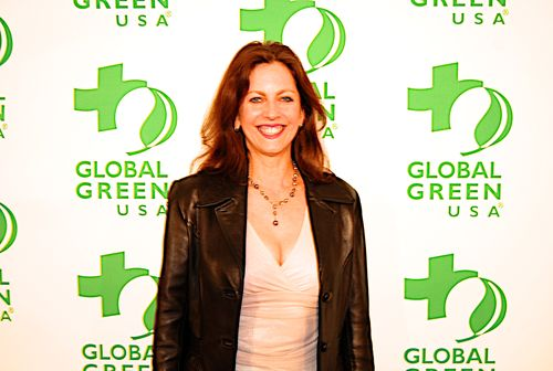 Donna Barnett at Global Green Pre-Oscar Party
