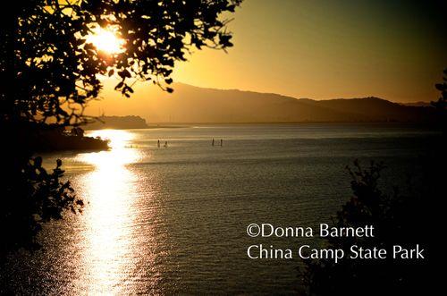 China Camp State Park Sunset