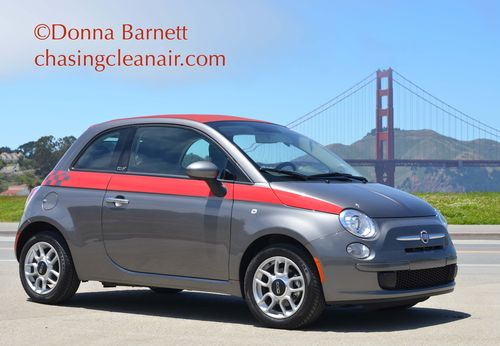 2012 Fiat 500 C Golden Gate Bridge