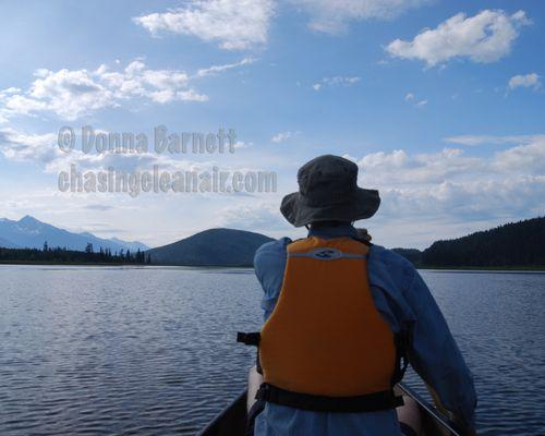 CanoeBowron LakeCR