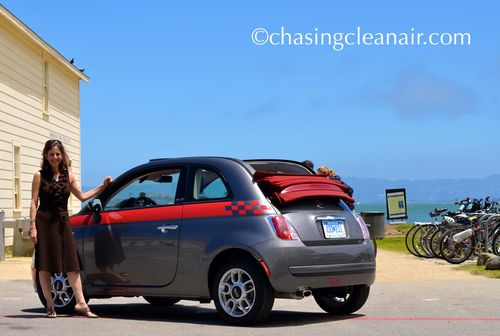 Donna and 2012 Fiat 500 C