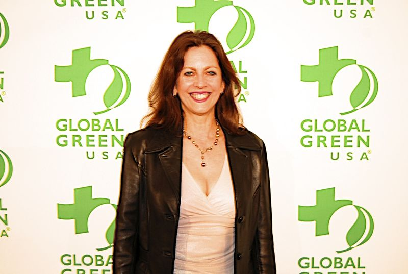 Donna at Global Green Pre-Oscar Party