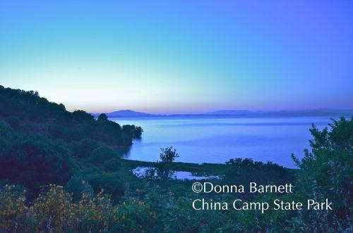 China Camp State Park Sunset Blue