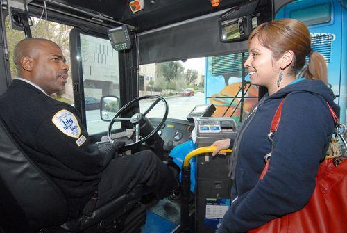 Driver Big Blue Bus
