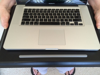 My Personal Laptop Pad Bought At Costco, Made-In-China