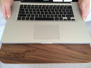 HARApad Elite 2.0  Under My Laptop