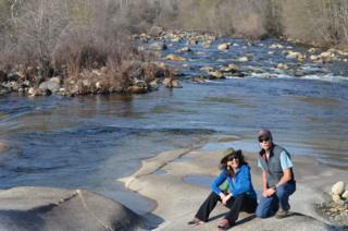 Donna Barnett and Public Historian John Elliott Three Rivers