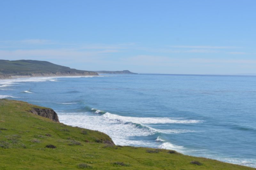 Gentle Waves Lap Shore