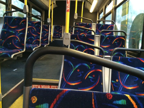 Big Blue Bus Can Be Lonely Place - Shouldn't Be