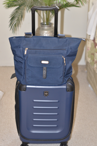 Victorinox Carry-on with Baggallini Tote