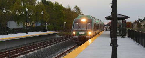 SMART train San Rafael to Sonoma
