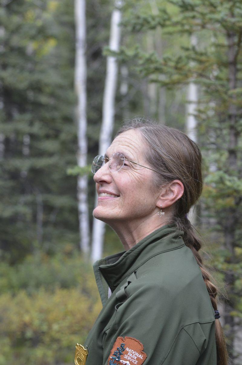 Ranger Kris Fister Enjoys Serenity of Denali National Park and Preserve